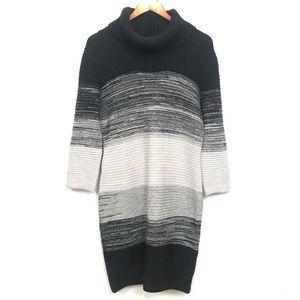 London Times | Womens Cowl-neck Sweater Dress XL